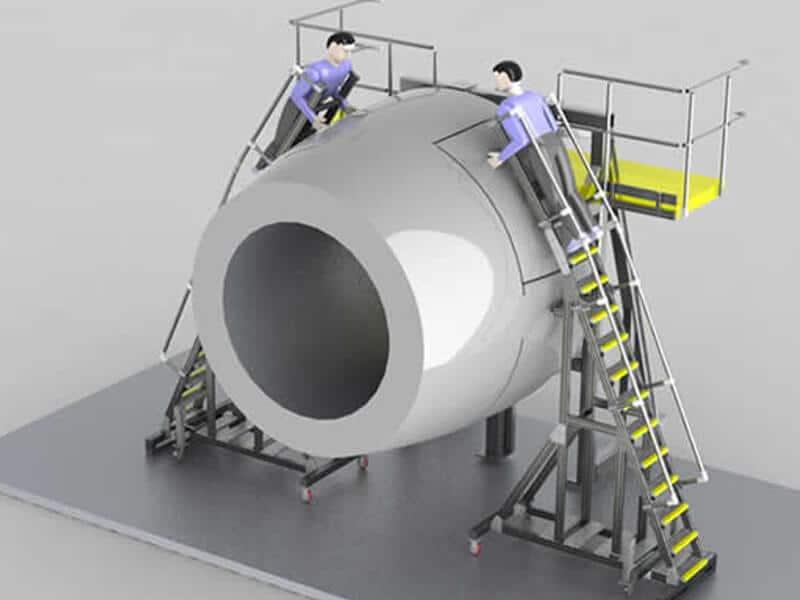 Aerospace Work Platform