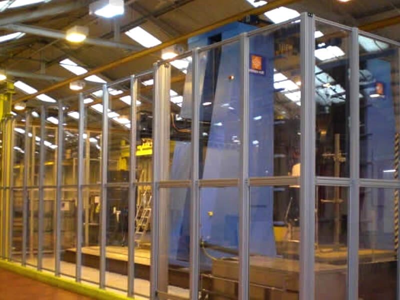 Industrial Partitioning For Ultrasonic Testing