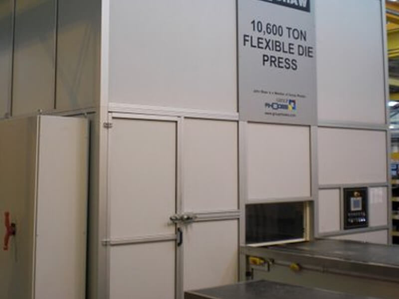 Large 10000 Ton Press & Enclosure