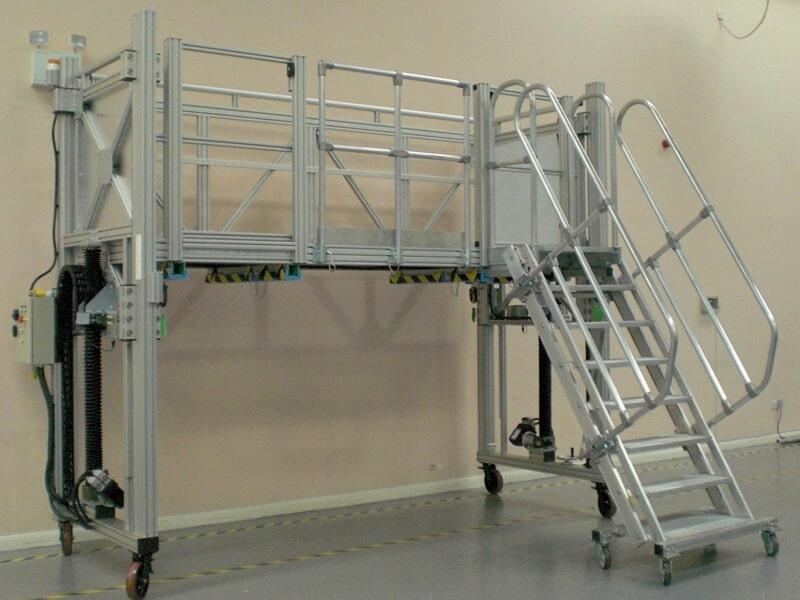 Mobile Height Adjustable Access Platform