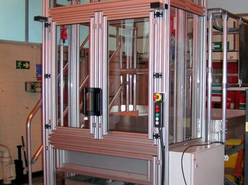 Nuclear Material Lift & Machine Guard Frame