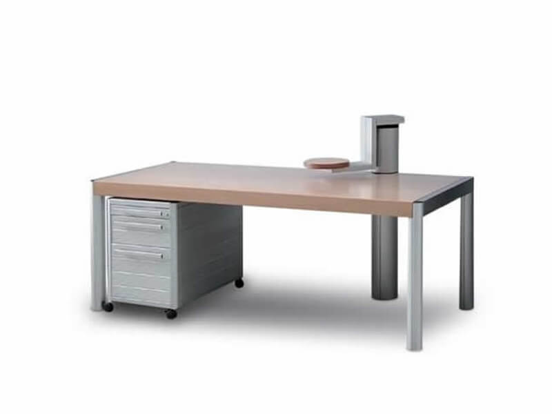 Workstation - Desk With Monitor Support
