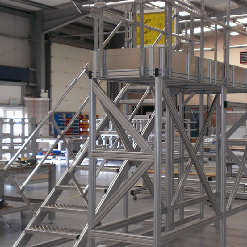 working at height mobile platforms