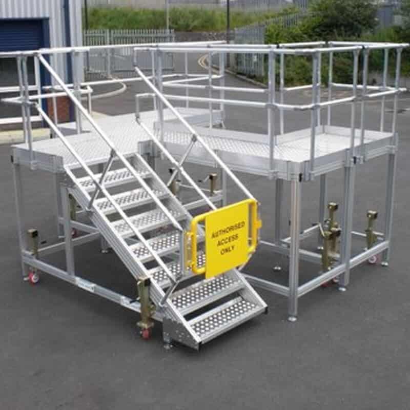 aerospace dock system platform