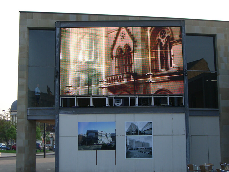 Bradford Media Led Screen Supporting Structure