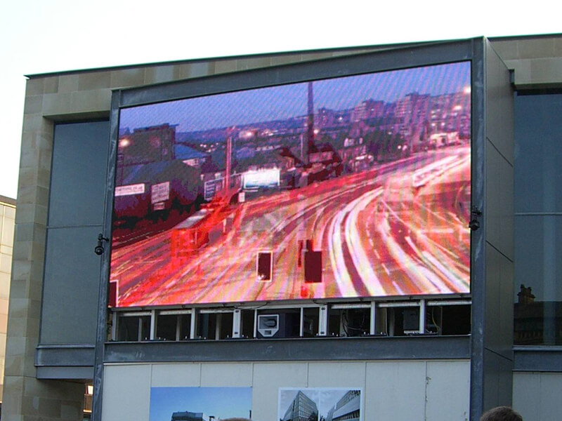 Bradford Media Screen Supporting Structure