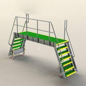 bridging work platform
