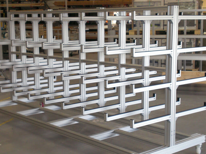 Industrial Pipe Storage Trolleys