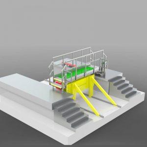 sliding platform