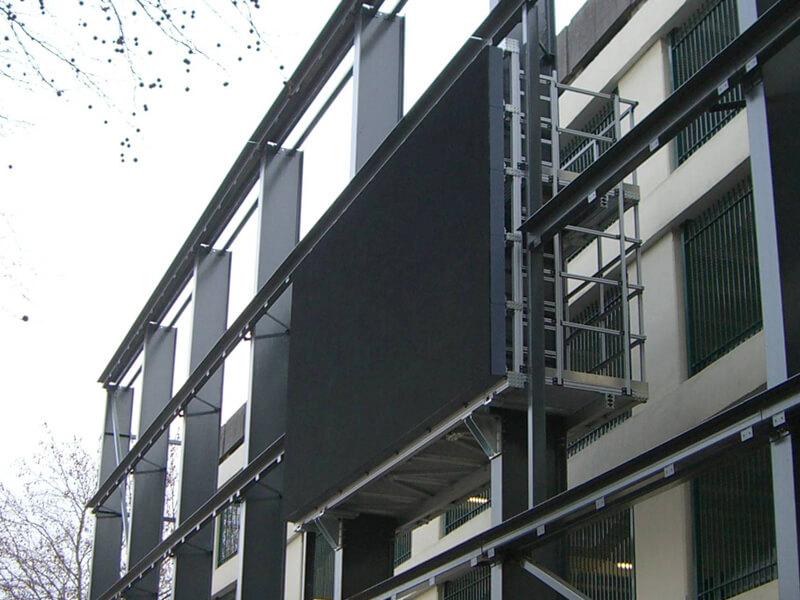 Swindon Media Led Screen Supporting Structure